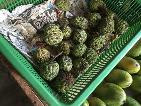 Ny lankesisk frukt som vi smakat dag, Welanoda!
