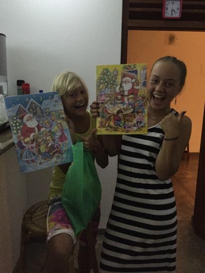Vilken lycka! En chokladjulkalender!