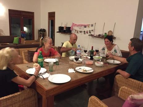 Ännu godare mat och vin tillsammans med sköna människor!