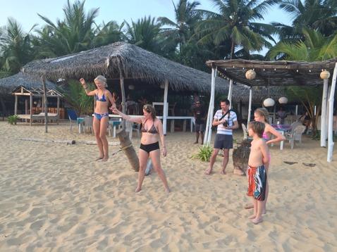 Strandaktiviteter!