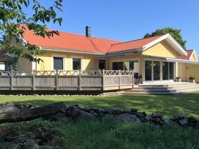 Vårt fina hus för uthyrning från september...