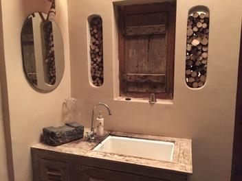 Vilket ljuvligt badrum!