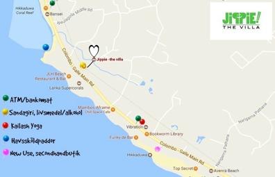 Adressen är Galbokkuwa road, Pannamgoda. Ligger precis bredvid Villa Dineha.