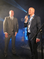 Lennart Karlsson och Mika Jörnelius. Foto: Michael Leijon
