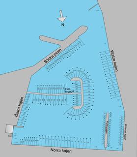 Översikt båtplatser