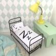 Sleepy doll bedding