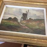 Oljemålning, troligen Holland