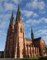 Uppsala Cathedral.