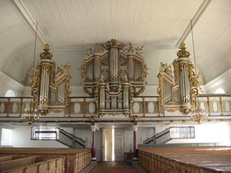 Baroque organ from 1728