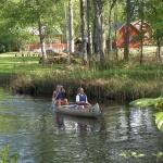 beskuren paddelbild vid korrö