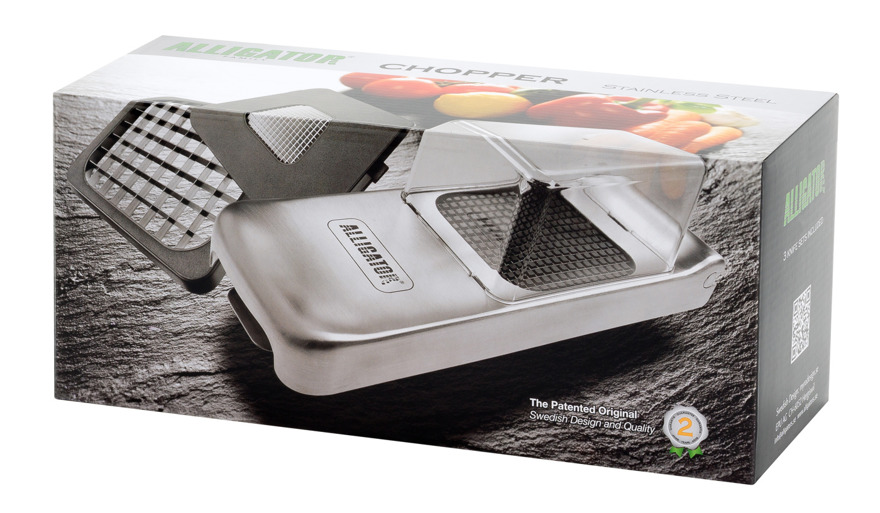 Alligator Dicer Chopper Stainless Steel