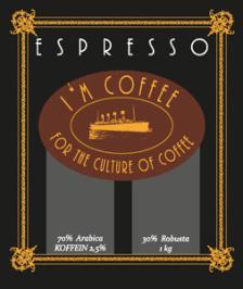 Espresso Blend 70/30 - Hela bönor 0,250kg