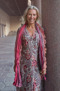 Lady dress - Red pommerange