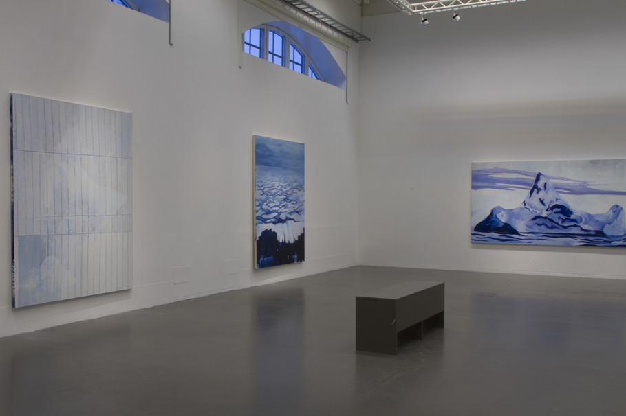 Installation view from the exhibition Sweet violet