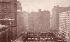 The Construction of Hotel Roosevelt 1921