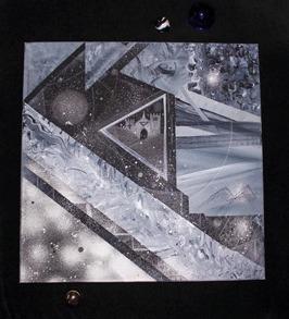 Space Castle 50x50cm