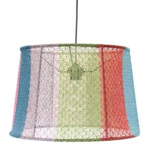 Stickad lampa. - Multi taklampa