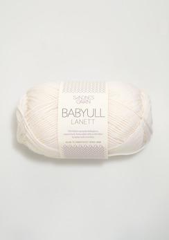 BABYULL LANETT - 1001 - Vit
