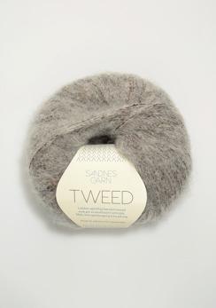 TWEED - 1044 - Ljusgrå