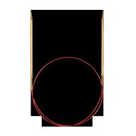 Rundstickor Lace 80 cm