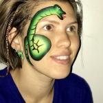 ansiktsmålning orm
