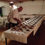 Rafael catering in action