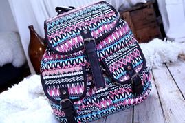 Väska - Colourful Aztec