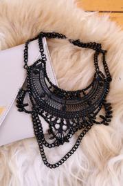 Halsband - All black