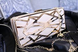 Golden Aztec Bag -