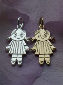 Silversmycke Lilla Anna