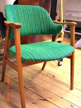Smått sunkiga stolar från 50-talet...