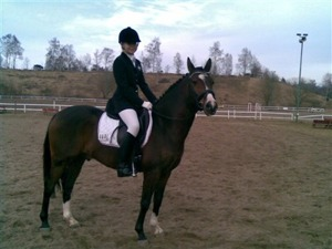 Daniella och Little Diamonds Doolittle i Hermanstorp 2009