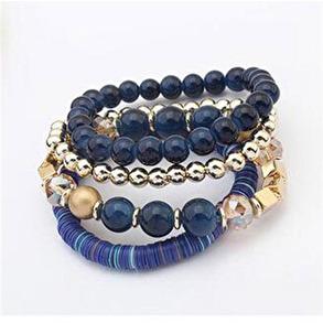 Hårsmycke/Armband - Blå