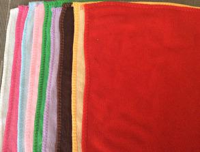 Liten handduk - Röd