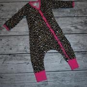Leopard/Cerise 74 GOTS
