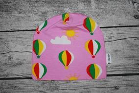 Färgsprakande luftballonger 44/46 GOTS - Rosa luftballonger