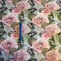 Perfect Skirt M välj mellan 23 olika tyger - blomma och fjäril