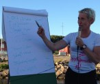 carina hammarstrand förklarar vasaloppsveckan