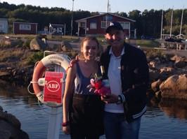 """Ellen Andreasson avtackar Thomas Petersson som generöst och förberett improviserat likt alla stora artister tog oss med på sin livs resa som vi säkert en dag får höra i """"Sommar i P1""""!"""