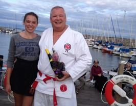 Ellen avtackar Benny Ericsson för inspirerande positivt självförsvar