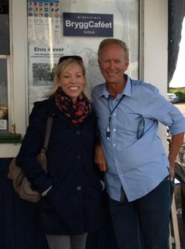 """Tack Ginna Lindberg från över 100 personer som redan kan boka in nästa sommar för """"Ginna på Bryggan"""""""