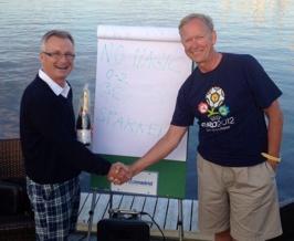 Under en magisk kväll i Grötvik kåserade Roland Andersson, mångårig landslagstränare för Sverige och Nigeria