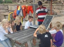 Glassbåtsrace briefing