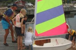 Klargöring före segling