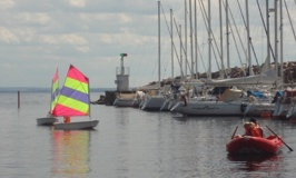 Första seglingen!