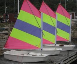 Perfekt riggat före segling