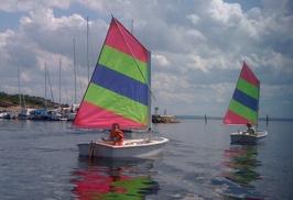 Jonas & Erik seglar utan vind!