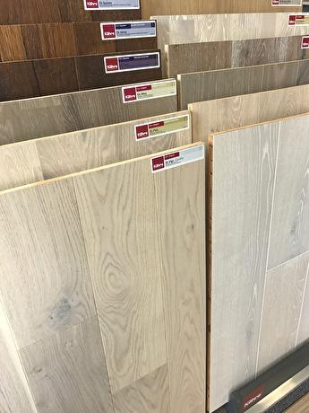 Kährs trägolv är av högsta kvalitet och det finns många vackra träslag att välja bland.