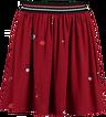 Garcia red skirt - Garcia girl red skirt 170