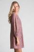 Spetsklänning - Spetsklänning rosa L